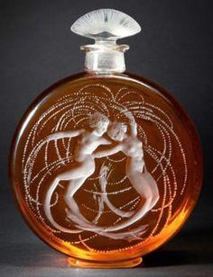 Lalique Deux Sirenes Perfume Bottle