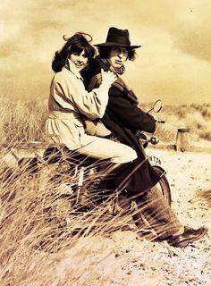 Elizabeth Sladen and Tom Baker