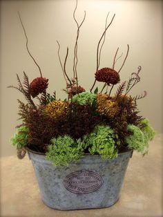 Flower arrangement for fall