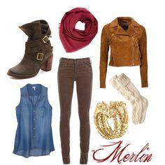 """Merlin Inspired - MERLIN"" by heartlockett on Polyvore"