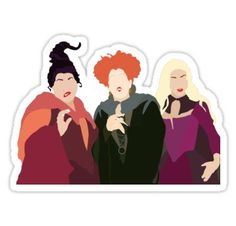 Hocus Pocus stickers featuring millions of original designs created by independent artists. Stickers Cool, Tumblr Stickers, Printable Stickers, Laptop Stickers, Planner Stickers, Homemade Stickers, Halloween Stickers, Aesthetic Stickers, Hocus Pocus