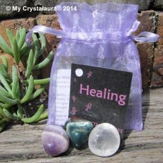 Crystal Wish Kit HEALING.  Harness the power of crystals to help make all your wishes come true.  Your kit contains: Amethyst - Gives stability, strength and invigoration. Reduces stress. Bloodstone - Gives strength and stamina during times of stress. Clear Quartz - Emotionally balancing and dispels negativity.  - See more at: http://www.mycrystalaura.com.au/crystal-packs#sthash.0oslZGt0.dpuf