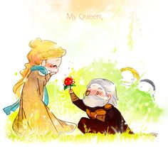 You can definitely tell Odin loves Frigga....