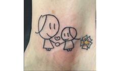 These parents turned their kids' drawings into incredible tattoos: Tattoo designs à la children