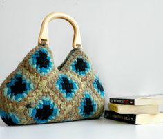 felted crochet bag