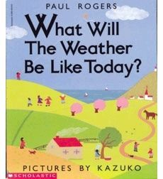 Image result for PRESCHOOL WEATHER BOOKS