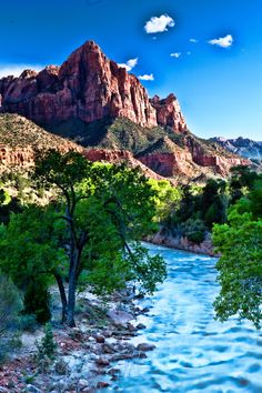 Zion Nat. Park....The Watchman