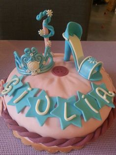 Cenerella cake!