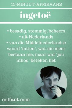 Inligting kom uit die Etimologiewoordeboek van Afrikaans. Leer Afrikaans. 15-Minuut-Afrikaans. Dream Quotes, Best Quotes, Love Quotes, Inspirational Quotes, Career Quotes, Success Quotes, Afrikaans Language, Afrikaanse Quotes, Wisdom Quotes