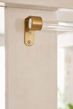 Assembly Home Acrylic Curtain Rod