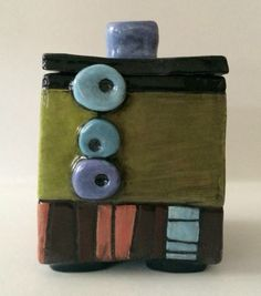 ceramic box #2-square by whimsicallinendesign on Etsy https://www.etsy.com/listing/231853846/ceramic-box-2-square