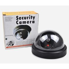 Cheaper Fake Dummy Outdoor Indoor Flashing LED Security Burglar CCTV Surveillance Camera LCC77. Yesterday's price: US $4.53 (3.71 EUR). Today's price: US $3.81 (3.14 EUR). Discount: 16%.