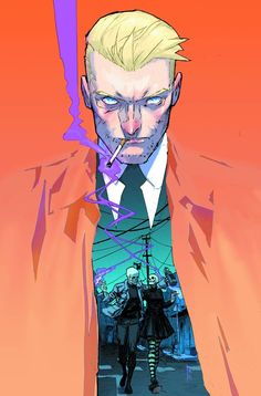 Some very bad news sends #JohnConstantine #TheHellblazer on a magical bender through the darkened streets of London.