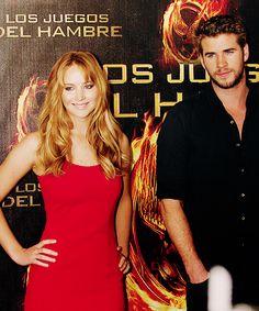Jennifer Lawrence & Liam Hemsworth