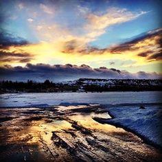 Dawn - Egilstadir, Iceland Iceland, Dawn, Mountains, Nature, Travel, Ice Land, Naturaleza, Viajes, Destinations