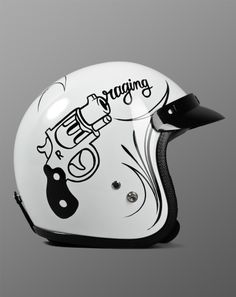 Helmet - Tally-Ho design by Mcbess