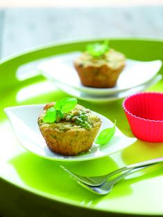 Recept muffins met nazareth-kaas en pesto