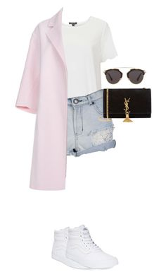 """""""Untitled #62"""" by ditteknight on Polyvore featuring Topshop, CO, Paul Smith, Vans, Yves Saint Laurent and Christian Dior"""