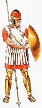 Phalangite is a term used for a soldier who was a member of a phalanx. Here a phalangite of the Antigonid Dynasty. Mausoleum At Halicarnassus, Greek Soldier, Punic Wars, Greek Warrior, Mycenaean, Classical Antiquity, Greek History, 1st Century, Alexander The Great