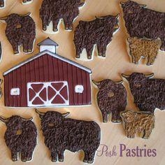 Cattle Farm Cookies