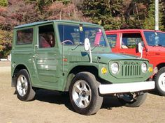 Suzuki Jimny LJ20 - Reminds me of a little old man with specticles on the end of his nose _ Cute!