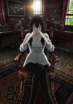 "Sakurako-san no Ashimoto ni wa Shitai ga Umatteiru  The story revolves around Tatewaki Shoutarou and Kujou Sakurako. Shoutarou is a normal high school student with a serious demeanor who likes to show off his girlfriend Sakurako. Sakurako is an extraordinarily beautiful woman in her mid-20s from a rich family who loves ""beautiful bones"". The two live in the city of Asahikawa in Hokkaido, and they get involved in various incidents regarding bones."