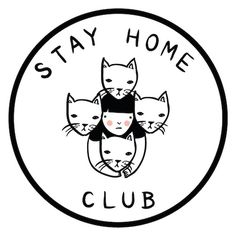 "Adorable mark from Montreal based ""Stay Home Club"""