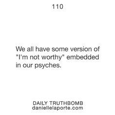 Truthbomb #110