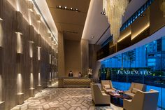 Fraser Suites, Guangzhou by HBA Design.