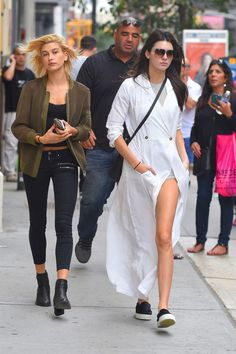 American Apparel romper + Stone Cold Fox gown 19 Times Kendall Jenner's Outfit Totally Killed It via @WhoWhatWear