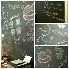 cool if we did this at work in the staff room. so everyone could draw or play hang man or anything while on break....