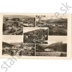 Stará pohľadnica Žarnovica