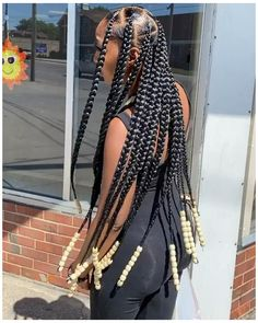 Hair Ponytail Styles, Box Braids Hairstyles For Black Women, Braids Hairstyles Pictures, Cute Braided Hairstyles, Black Girl Braids, African Braids Hairstyles, Braids For Black Hair, Girl Hairstyles, Braids With Natural Hair