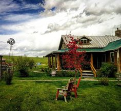 Ranch house.
