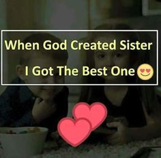 Sharing birthday with friends quotes: brother_sister_best friends ( Brother Sister Love Quotes, Brother And Sister Relationship, Sister Quotes Funny, Love My Sister, Dear Sister, Funny Quotes, Big Sis, Happy Bday Sister, Happy Sisters