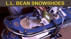 LL BEAN Winter Walker SNOWSHOE Review - By Newbies!