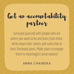 Do you have an accountability partner? What makes you such a good fit?  Click the image if you want more tips to create an #amazinglife and #thrivingbiz
