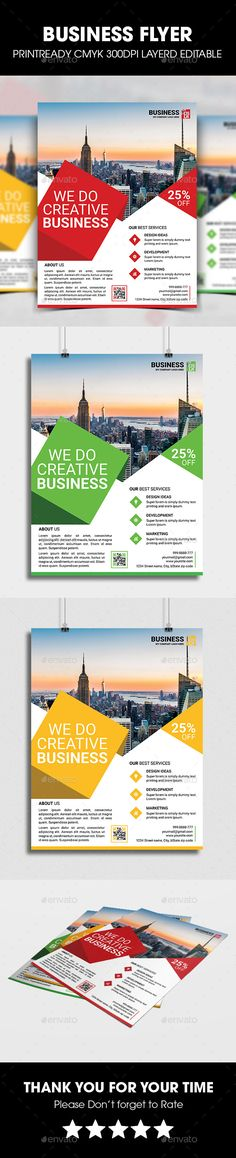 Corporate Business Flyer Business Flyers Corporate Business And