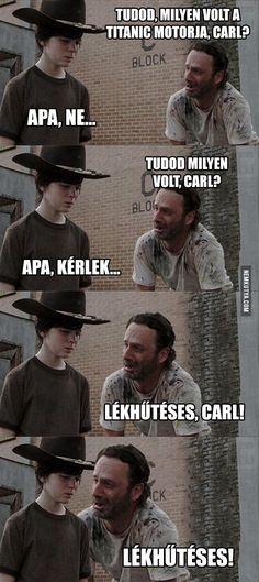 Milyen volt a Titanic motorja, Carl?