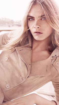 Introducing the new Burberry Body Tender campaign, featuring British model Cara Delevingne