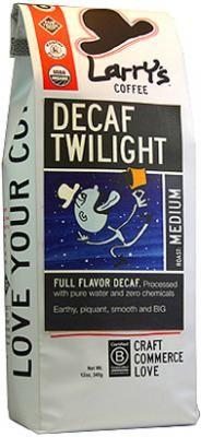 Decaf Twilight Blend - no chemicals + decaf!