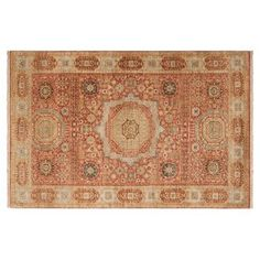 Check out this item at One Kings Lane! Ruchel Rug, Rust