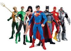 If you're a fan of DC Comics' reboot of popular superheroes, you'll want to grab the Justice League New 52 Box Set Action Figure 7-Pack, and you might be surprised to learn these fictional superheroes are actually doing s