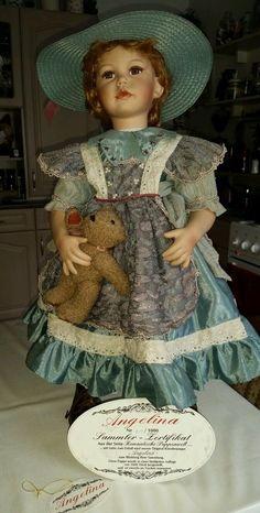 Shabby Chic Künstlerpuppe Porzellan Puppe | eBay