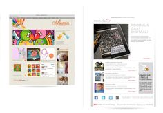 layouts digital newsletters