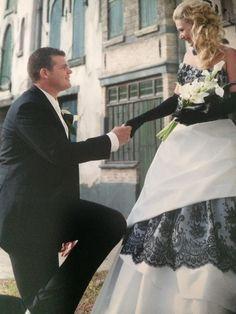 Leantine trouwde in 2009 in de Efteling