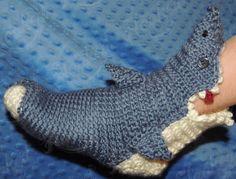 HopelesslyHooked Shark Socks
