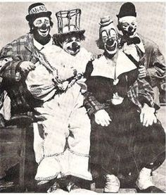 Paul Jerome, Felix Adler, Lou Jacobs and Paul Jung