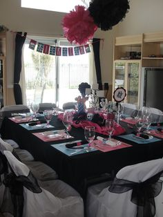 "Photo 1 of 24: Spa Party / Birthday ""Kiersten Monster High Spa Party"" 