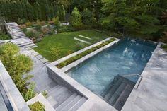 Finde moderner Pool Designs: Garten Gestaltung. Entdecke die schönsten Bilder zur Inspiration für die Gestaltung deines Traumhauses.